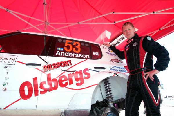 2010 FIA World Rally ChampionshipRound 01Rally Jordan 31/3 - 3/4  2010PG Andersson, Skoda S 2000, PortraitWorldwide Copyright: McKlein/LAT