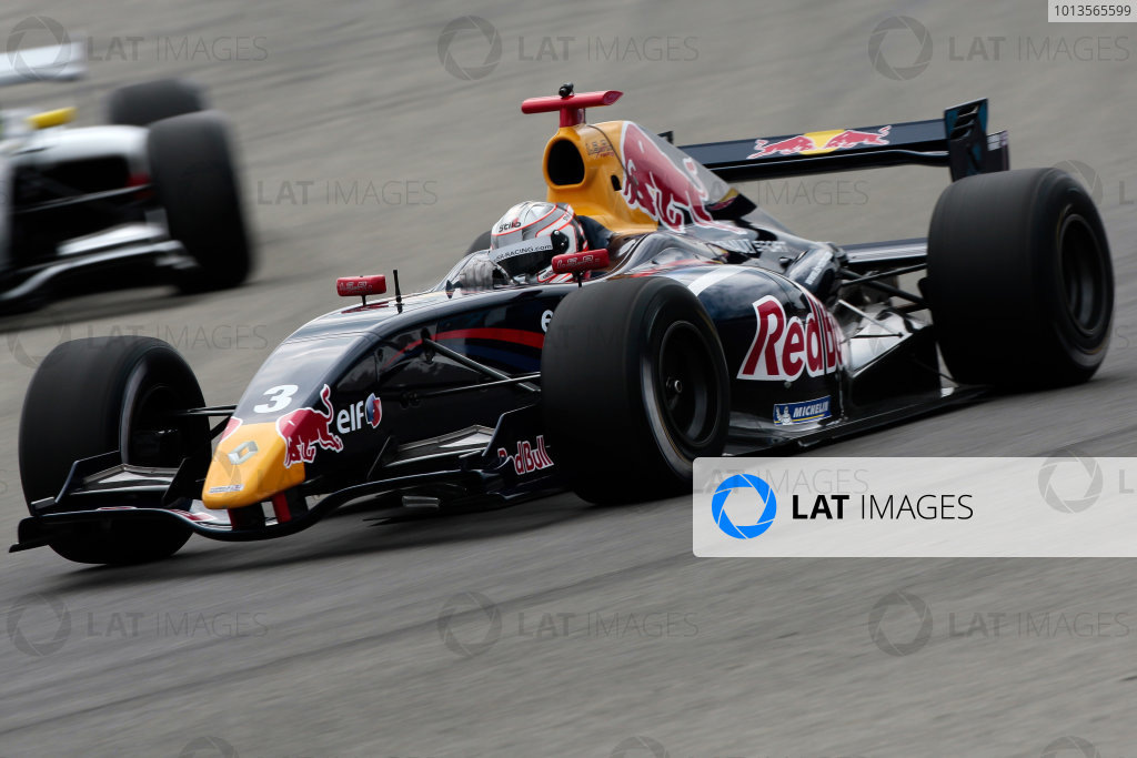 LE CASTELLET (FRA) MAR 21-23 2011 - Final collective testing World Series Renault 2011 at Paul Ricard. Daniel Ricciardo (AUT), #3 ISR. Action. Action. © 2011 Diederik van der Laan / LAT Photographic