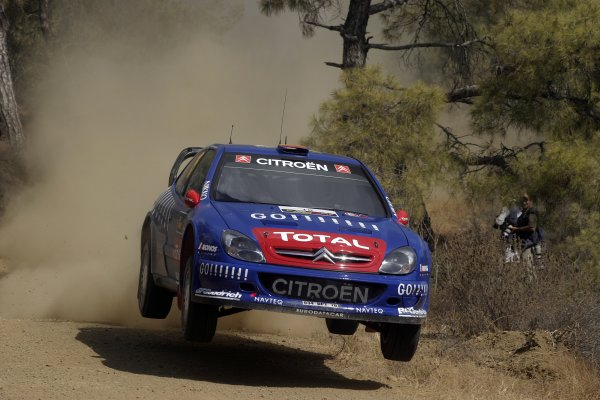 2006 FIA World Rally Champs. Round twelveCyprus Rally.21st - 24th September 2006.Sebastien Loeb, Citroen, action.World Copyright: McKlein/LAT