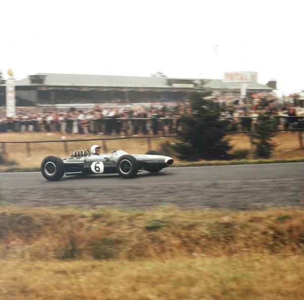Nurburgring, Germany.31/7-2/8 1964.Jack Brabham (Brabham BT7 Climax).Ref-3/1376.World Copyright - LAT Photographic
