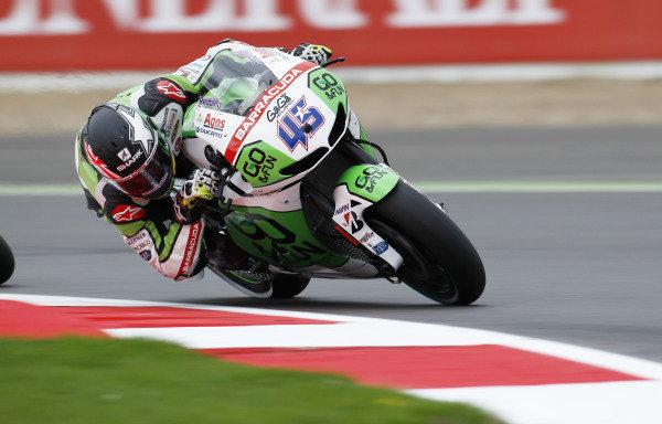 2014 MotoGP Championship  British Grand Prix.  Silverstone, England. 29th - 30st August 2014.  Scott Redding, Gresini Honda.  Ref: _W1_5466. World copyright: Kevin Wood/LAT Photographic
