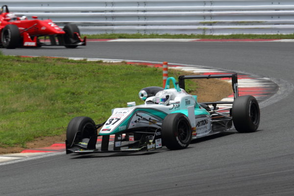 Fuji Speedway, Japan 13th - 14th July 2013.Rd 9 Winner  Yuichi Nakayama ( #36 PETRONAS TEAM TOM'S ) action World Copyright: Yasushi Ishihara/LAT Photographic Ref: Digital Image 2013JF3_Rd8&9_014