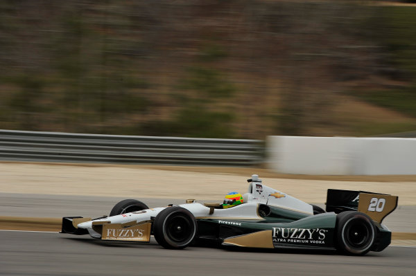 17-18 March 2014, Birmingham, Alabama USA Mike Conway ©2014 Scott R LePage  LAT Photo USA