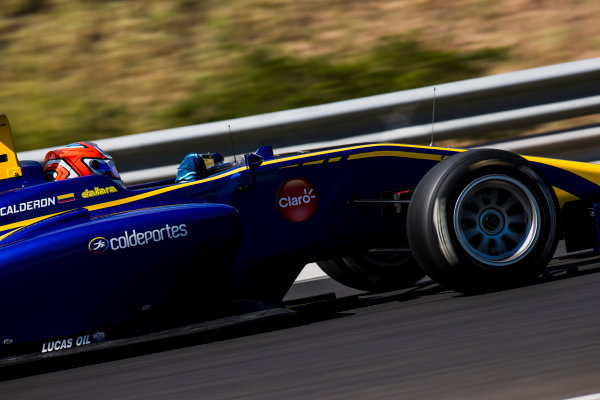 2017 GP3 Series Test 4.  Hungaroring, Budapest, Hungary. Wednesday 7 June 2017. Tatiana Calderon (COL, DAMS)  Photo: Zak Mauger/GP3 Series Media Service. ref: Digital Image _56I2284