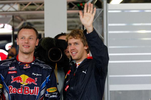 Suzuka Circuit, Suzuka, Japan. 9th October 2010. Sebastian Vettel, Red Bull Racing RB6 Renault. Portrait.  World Copyright: Andrew Ferraro/LAT Photographic ref: Digital Image _Q0C8905