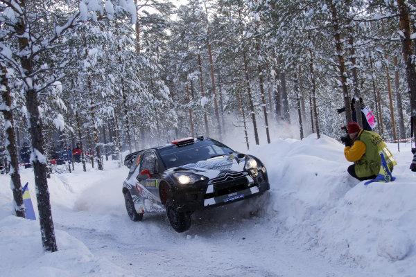 Round 01-Rally Sweden. 10th-13th February 2011.Kimi Raikkonen, Citroen WRC, Action.Worldwide Copyright: McKlein/LAT