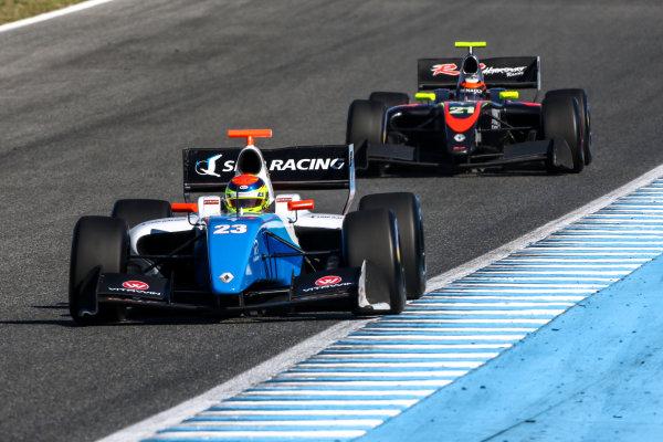 JEREZ (ESP) 28-30 oct 2016, Spanish F4, Euro Formula Open and Formula V8 3.5 2016 at circuito de Jerez. Matthieu Vaxiviere #23 SMP Racing. Action. © 2016 Klaas Norg / Dutch Photo Agency / LAT Photographic