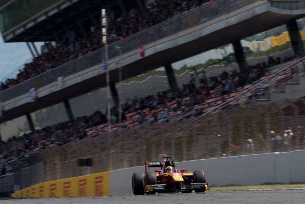 2017 FIA Formula 2 Round 2. Circuit de Catalunya, Barcelona, Spain. Sunday 14 May 2017. Louis Deletraz (SUI, Racing Engineering)  Photo: Jed Leicester/FIA Formula 2. ref: Digital Image JL2_1604