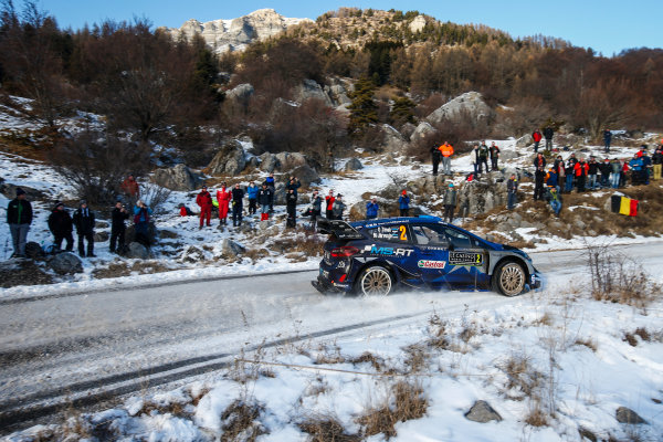 2017 FIA World Rally Championship, Round 01, Rally Monte Carlo, January 18-22, 2017, Ott Tanak, Ford, Action, Worldwide Copyright: McKlein/LAT