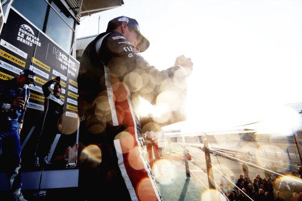 2017 European LeMans Series, Silverstone, 13th-15th April 2017, P3 Podium - John Falb (USA) / Sean Rayhall (USA) - UNITED AUTOSPORTS - Ligier JS P3 ? Nissan wins World Copyright. JEP/LAT Images