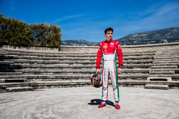 2017 FIA Formula 2 Round 3. Monte Carlo, Monaco. Wednesday 24 May 2017. Charles Leclerc (MCO, PREMA Racing)  Photo: Zak Mauger/FIA Formula 2. ref: Digital Image _54I4770