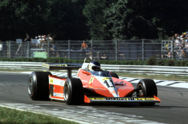 1978 Italian Grand Prix.Monza, Italy.8-10 September 1978.Carlos Reutemann (Ferrari 312T3) 3rd position.World Copyright - LAT Photographic
