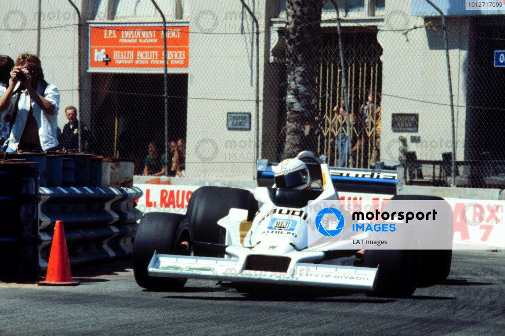 1978 United States Grand Prix West.Long Beach, California, USA.31/3-2/4 1978.Alan Jones (Williams FW06 Ford) 7th position.World Copyright - LAT Photographic