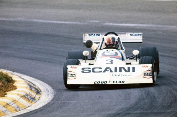 Maurizio Flammini, March 762 BMW/Rosche.