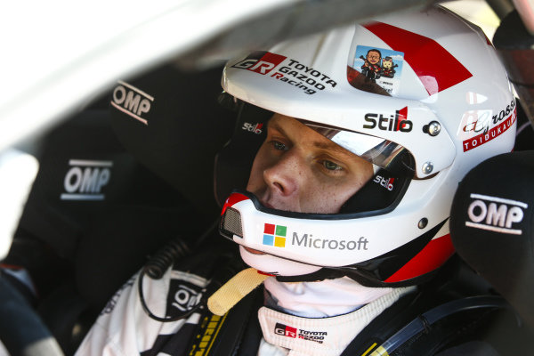 Focussed and ready, Ott Tanak on Rallye Deutschland