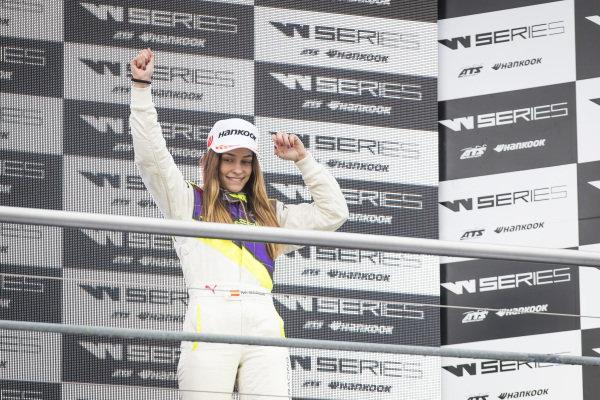 Marta Garcia (ESP) on the podium