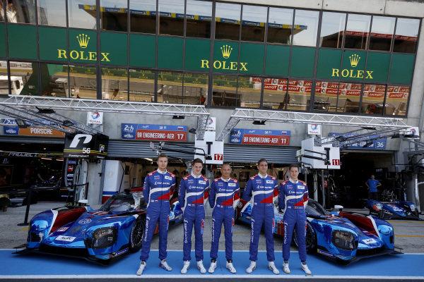 #17 SMP Racing BR Engineering BR1: Stéphane Sarrazin, Egor Orudzhev, Sergey Sirotkin, #11 SMP Racing BR Engineering BR1: Mikhail Aleshin, Vitaly Petrov, Stoffel Vandoorne.