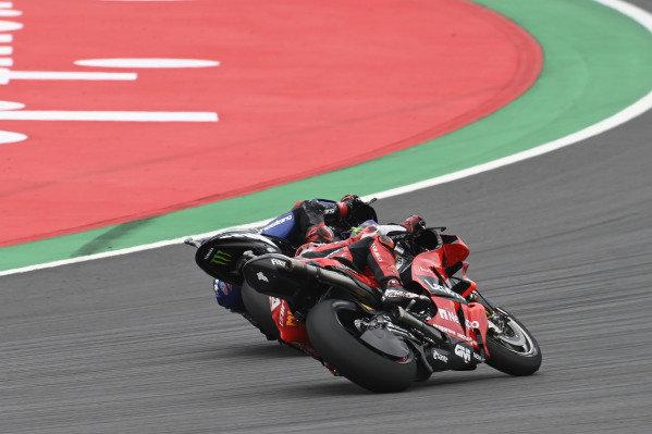 Jack Miller, Ducati Team, Fabio Quartararo, Yamaha Factory Racing.