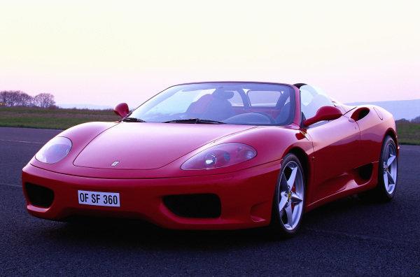 Ferrari 360 Modena Spider, 2004