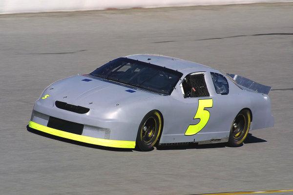 2002 NASCAR Cup TestingDaytona, Florida, USA. 8th January 2002.Teryy Labonte, Chevrolet, action.World Copyright: Greg Aleck/LAT Photographicref: Digital Image Only