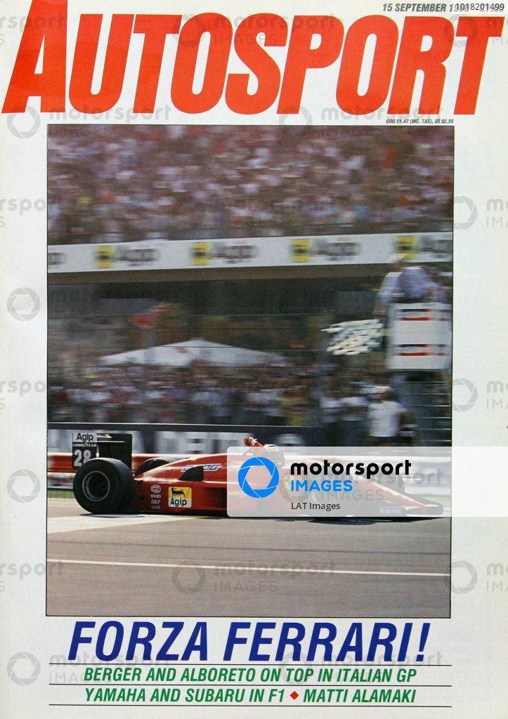 Autosport Covers 1988