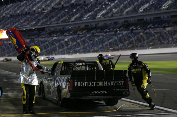 #98: Christian Eckes, ThorSport Racing, Toyota Tundra