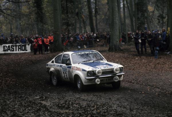 Tony Pond / David Richards, Opel Kadett GT/E.