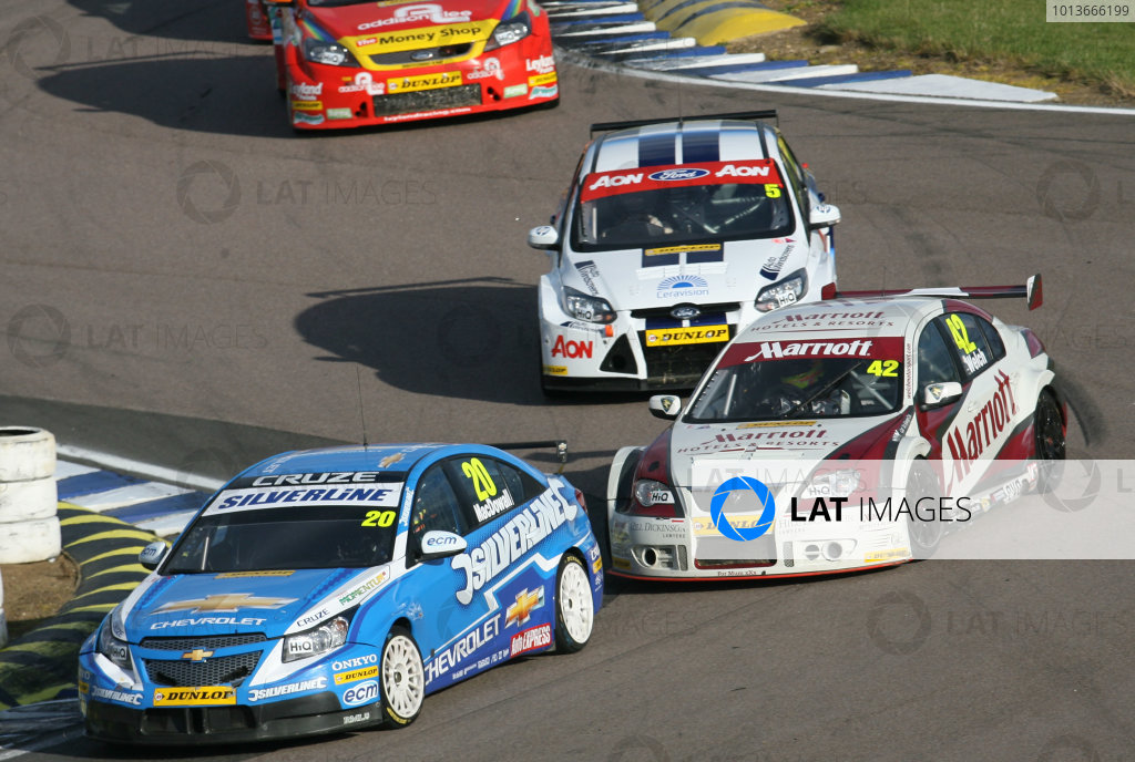 Rockingham, Northamptonshire. 17th - 18th September 2011.Alex MacDowall (GBR) Team Silverline Chevrolet Cruze.World Copyright: Ebrey/LAT Photographic.