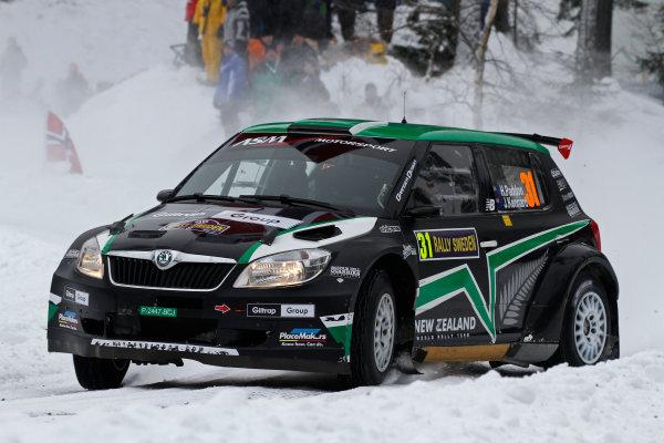 Round 02 - Rally Sweden 09-12 February 2012. Hayden Paddon, Ford S2000, Action  Worldwide Copyright: McKlein/LAT