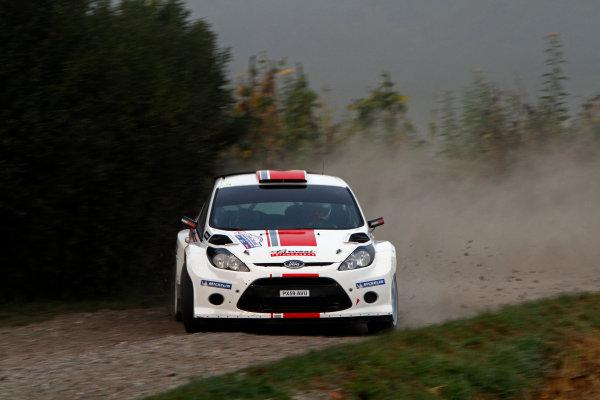 Round 11-Rallye de France. Ott Tanak, Ford S2000, Action.Worldwide Copyright: McKlein/LAT