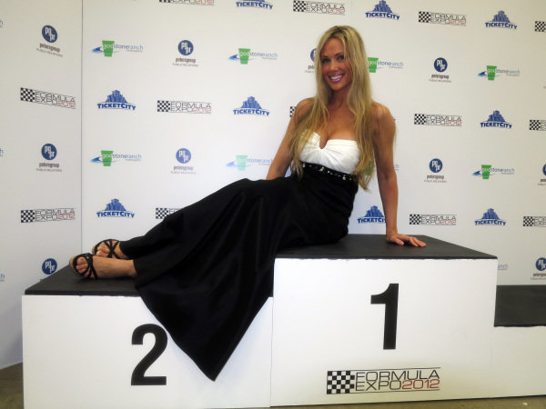 Bridget Lee (USA). Formula One Expo, Austin, Texas, 15-17 June 2012.