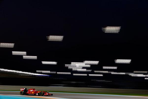 Yas Marina Circuit, Abu Dhabi, United Arab Emirates. Friday 27 November 2015. Kimi Raikkonen, Ferrari SF-15T. World Copyright: Charles Coates/LAT Photographic ref: Digital Image _99O7475