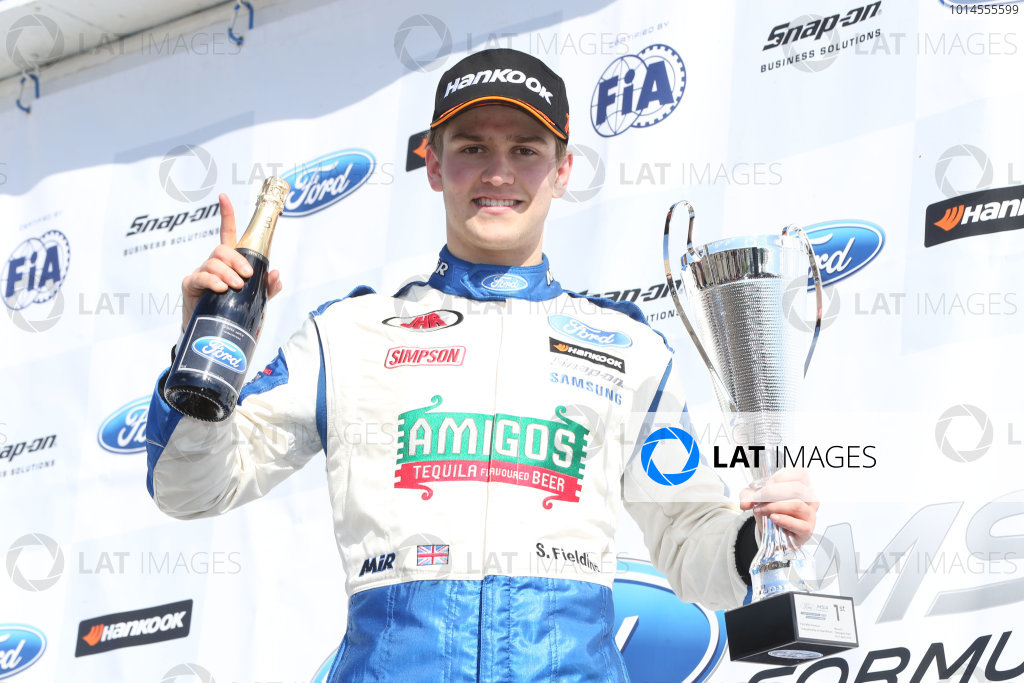 2016 MSA Formula Donington Park, 16th-17th April 2016, Sennan Fielding (GBR) JHR Developments MSA Formula   World copyright. Jakob Ebrey/LAT Photographic