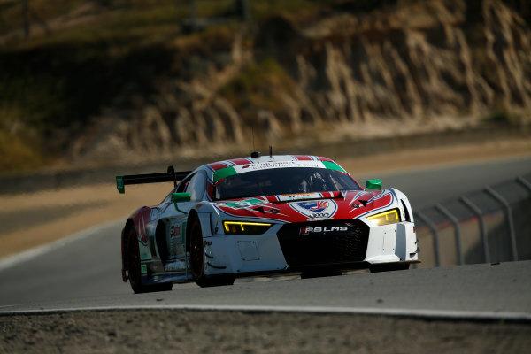 29 April - May 1, 2016, Monterey, California ,  6, Audi, R8 LMS GT3, GTD, Andrew Davis, Robin Liddell ?2016, Michael L. Levitt LAT Photo USA