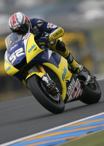 2008 MotoGP Championship.Le Mans, France. 15th - 18th May, 2008.James Toseland Tech 3 Yamaha during Free Practice 2.World Copyright: Martin Heath / LAT Photographic