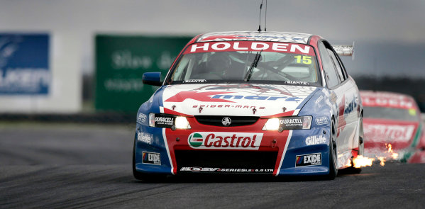 2004 Australian V8 SupercarsSymmons Plain Raceway, Tasmania. November 14th.V8 Supercar driver Rick Kelly in action during race 1. Kelly went on to win the race ahead of Marcos Ambrose 2nd and elder brother Todd Kelly in 3rd. World Copyright: Mark Horsburgh/LAT Photographicref: Digital Image Only