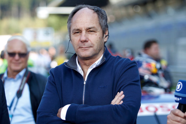 2017 DTM Round 8  Red Bull Ring, Spielberg, Austria  Saturday 23 September 2017. Gerhard Berger, ITR Chairman  World Copyright: Alexander Trienitz/LAT Images ref: Digital Image 2017-DTM-RBR-AT3-0993