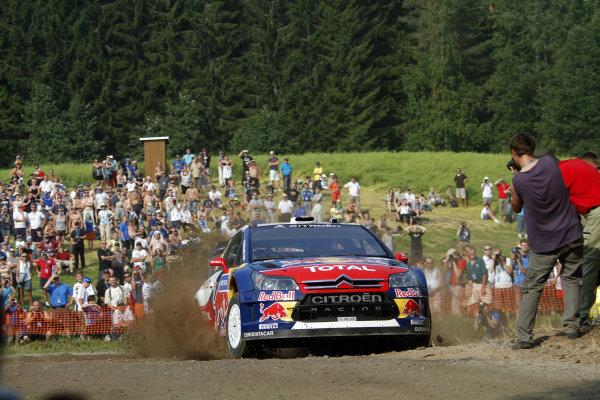 Round 08Rally Finland 29-31 July 2010Sebastien Ogier, Citroen WRC, ActionWorldwide Copyright: McKlein/LAT