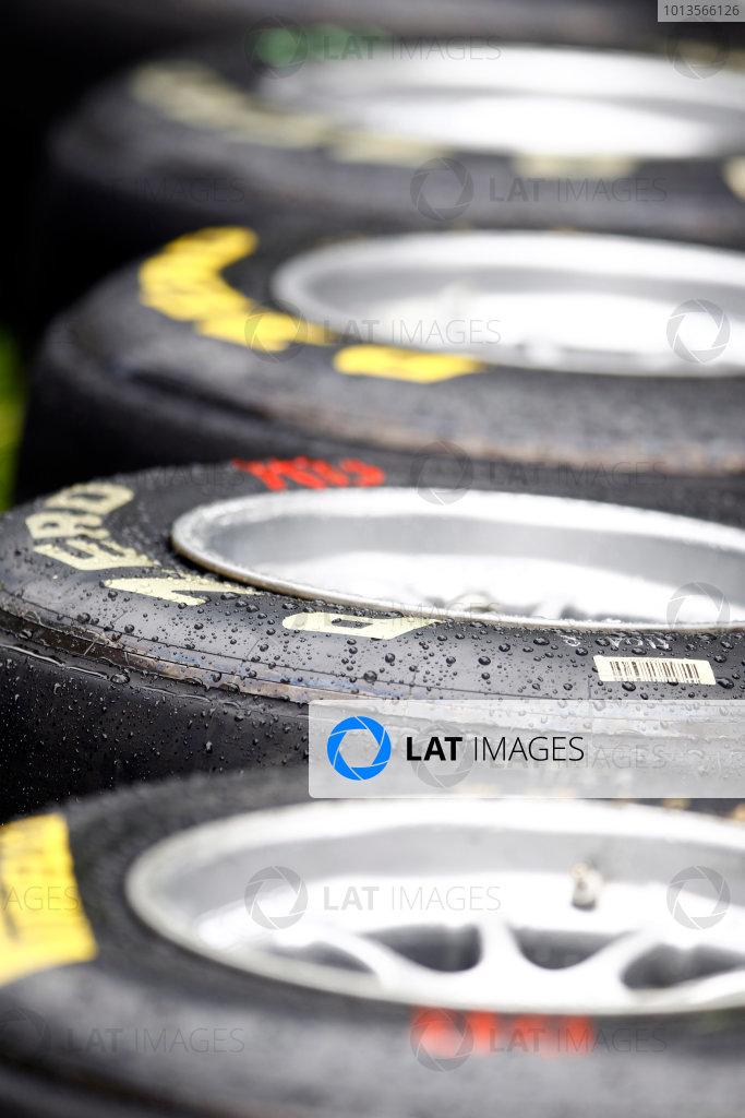 Albert Park, Melbourne, Australia24th March 2011.Pirelli tyres. Detail.World Copyright: Glenn Dunbar/LAT Photographicref: Digital Image _G7C1622