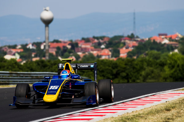 2017 GP3 Series Test 4.  Hungaroring, Budapest, Hungary. Tuesday 6 June 2017. Tatiana Calderon (COL, DAMS)  Photo: Zak Mauger/GP3 Series Media Service. ref: Digital Image _54I2566