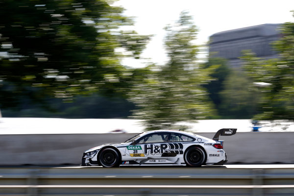 2017 DTM Round 4 Norisring, Nuremburg, Germany Friday 30 June 2017. Tom Blomqvist, BMW Team RBM, BMW M4 DTM World Copyright: Alexander Trienitz/LAT Images ref: Digital Image 2017-DTM-R4-NOR-AT2-0335