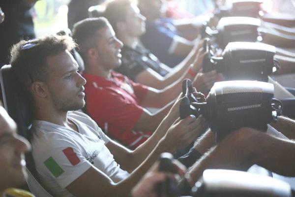 2017 FIA Formula 2 Round 7. Hungaroring, Budapest, Hungary. Saturday 29 July 2017. Luca Ghiotto (ITA, RUSSIAN TIME).  Photo: Andy Hone/FIA Formula 2. ref: Digital Image _ONY0724