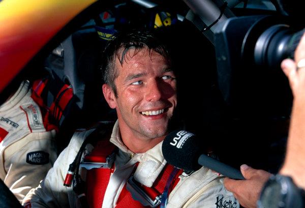 2003 World Rally ChampionshipRally of Cyprus, Cyprus. 19th - 22nd June 2003.Sebastien Loeb (Citroen Xsara), portrait.World Copyright: McKlein/LAT Photographicref: 03WRCCyprus15