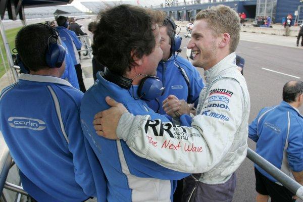 2007 British Formula Three Championship.Rockingham, England 29th and 30th September 2007.Maro Engel (GER) Carlin Motorsport Dallara MercedesWorld Copyright: Jakob Ebrey/LAT