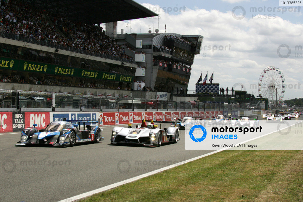 Circuit de La Sarthe, Le Mans, France.