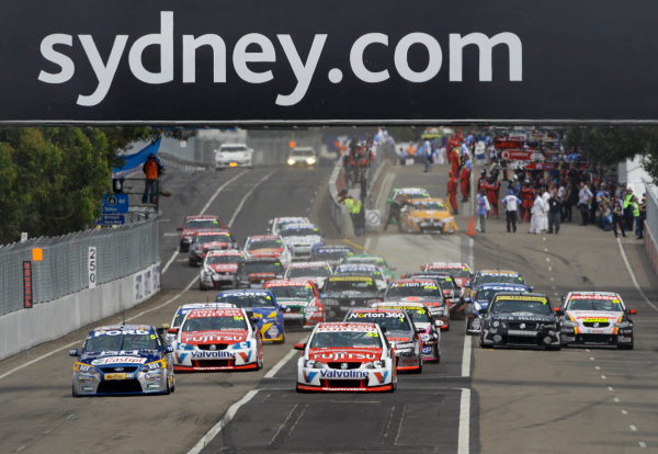 Homebush Street Circuit, Sydney, New South Wales.