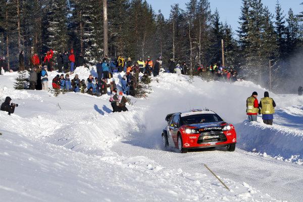 Round 01-Rally Sweden. 10th-13th February 2011.Petter Solberg, Citroen WRC, Portrait.Worldwide Copyright: McKlein/LAT