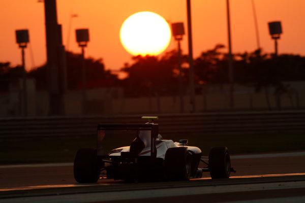 2014 GP3 Series Test 3.   Yas Marina Circuit, Abu Dhabi, United Arab Emirates. Saturday 29 November 2014. Matt Parry (GBR, Koiranen GP)  Photo: Sam Bloxham/GP3 Series Media Service. ref: Digital Image _14P3024