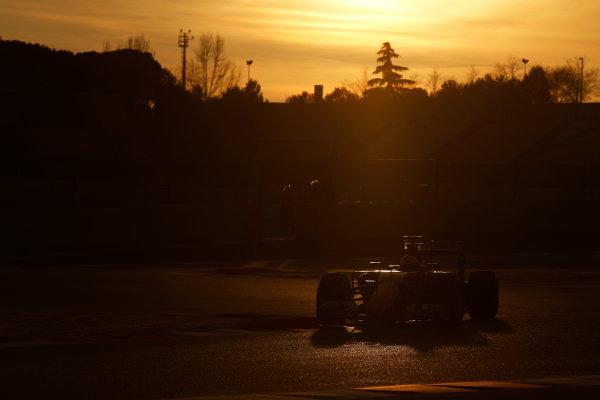 2015 F1 Pre Season Test 3 - Day 4 Circuit de Catalunya, Barcelona, Spain. Thursday  Sunday 1 March 2015. Sebastian Vettel, Ferrari SF15-T.  World Copyright: Sam Bloxham/LAT Photographic. ref: Digital Image _14P5550