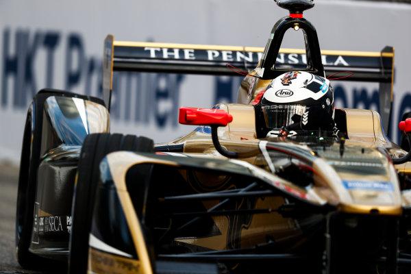 2017/2018 FIA Formula E Championship. Round 1 - Hong Kong, China. Saturday 02 December 2017.] Andre Lotterer (BEL), TECHEETAH, Renault Z.E. 17. Photo: Sam Bloxham/LAT/Formula E ref: Digital Image _J6I3961